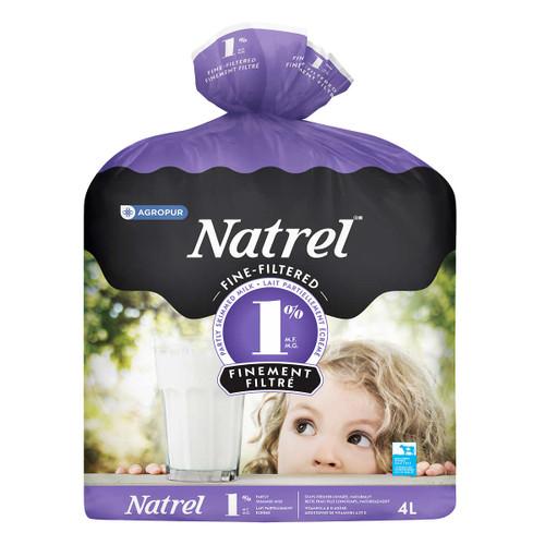 Natrel Milk Fine Filtered 1% 4L