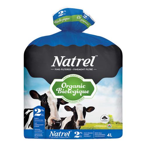 Organic Natrel Milk 2% 4L