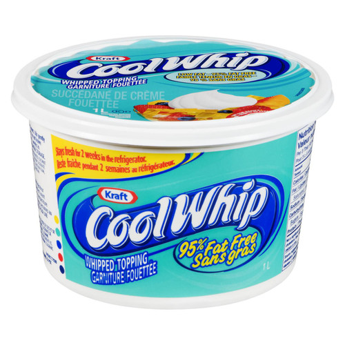 Cool Whip Low Fat Frozen 1L
