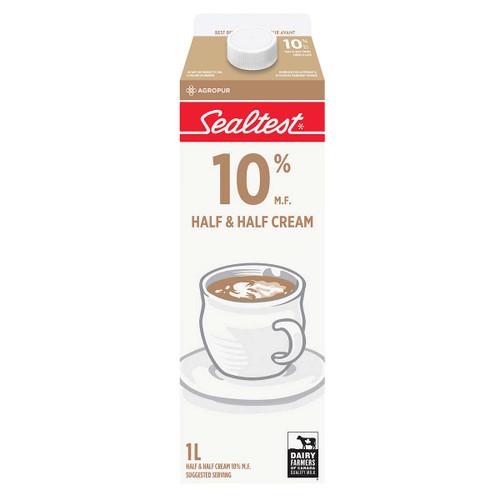 Cream 10& Half & Half 1L