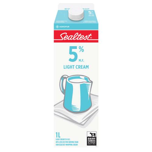 Cream 5% Light 1L