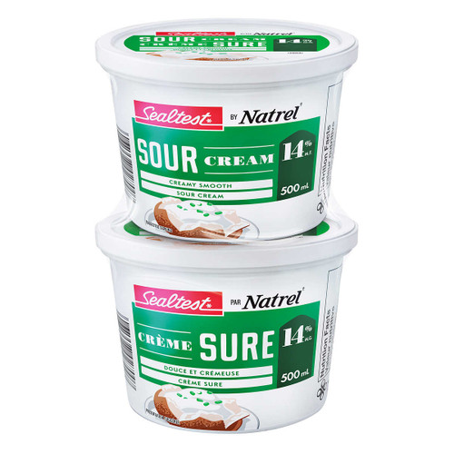Sour Cream 14% 2x500mL