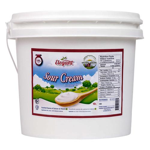 Sour Cream 14%  10L