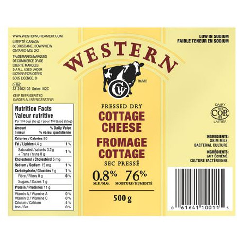 Pressed Cottage Cheese  500g