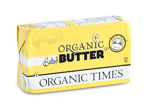 Organic Salted Butter 250g