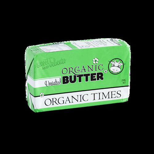 Organic Unsalted Butter 250g