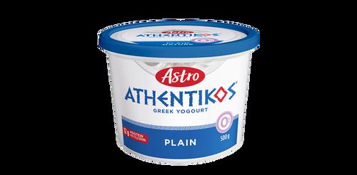 Astro Athentikos Greek Yogurt Plain 500g