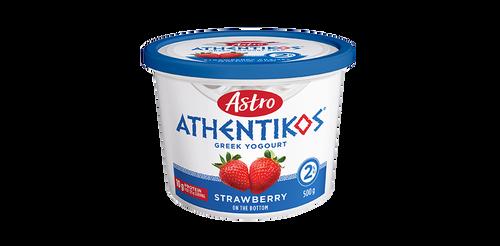 Astro Athentikos Greek Yogurt Strawberry 500g