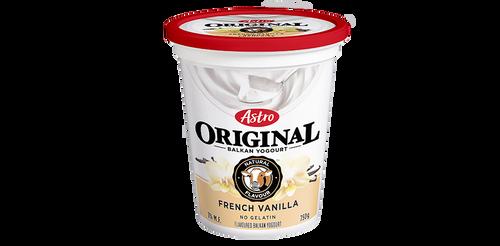 Astro Original Balkan Style Yogurt French Vanilla 650g