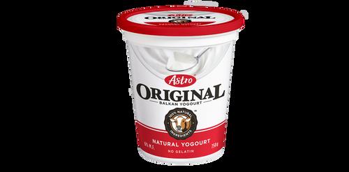 Astro Original Balkan Style Yogurt Plain 650g