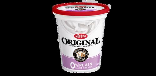 Astro Original Balkan Style Yogurt Plain 0% 650g