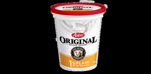 Astro Original Balkan Style Yogurt Plain 1% 650g