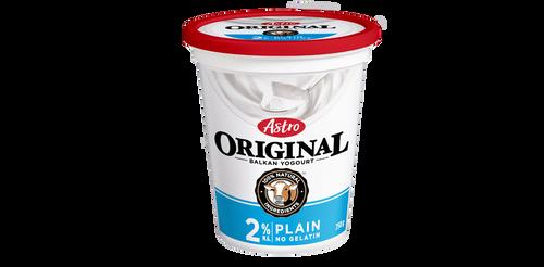 Astro Original Balkan Style Yogurt Plain 2% 650g