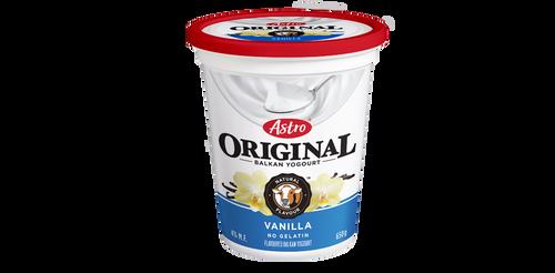 Astro Original Balkan Style Yogurt Vanilla 650g