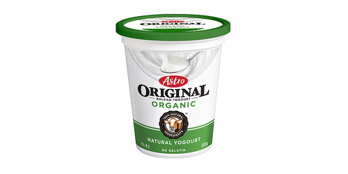 Astro Original Organic Yogurt Plain 650g