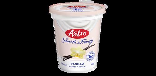 Astro Smooth 'N Fruity Yogurt Vanilla 650g