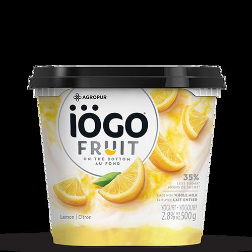 IOGO Yogurt Fruit On Bottom Lemon 500g