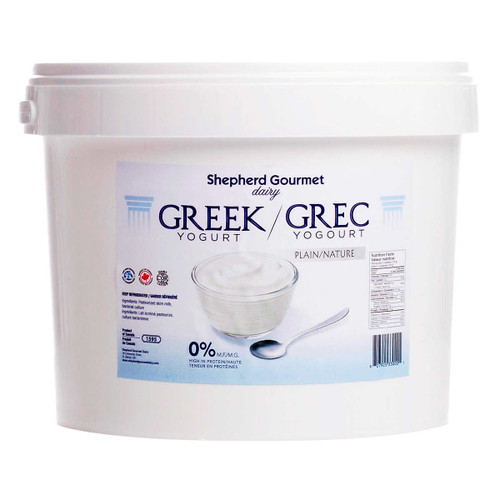Shepherd Gourmet Dairy Plain Greek Yogurt  3kg