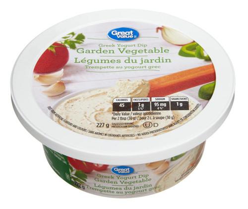 Greek Yogurt Dip Garden  227g