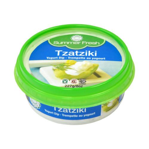Summer Fresh Tzatziki Yogurt Cucumber Dip 227g