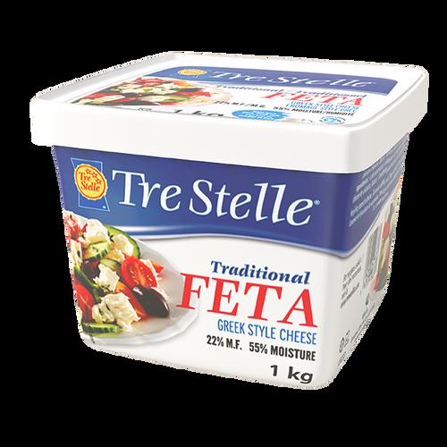 Tre Stelle Feta Cheese Greek Style 1kg