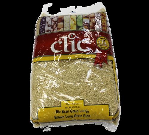 Clic Brown Long Grain Rice 5kg