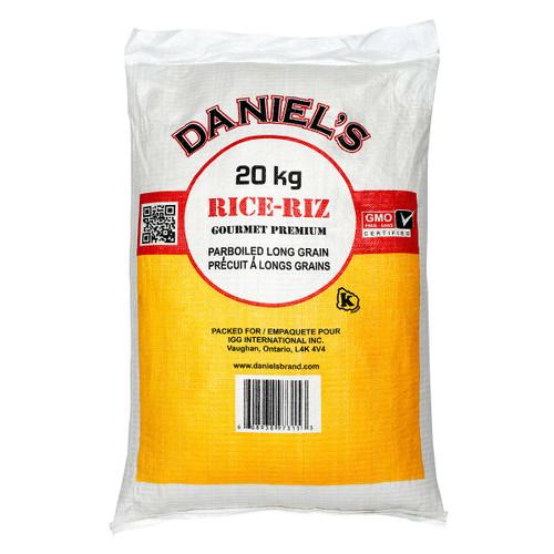 Daniel's Parboiled Long Grain Rice 20kg