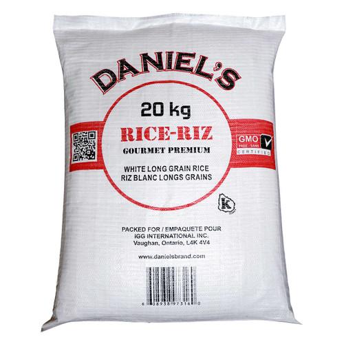 Daniel's White Long Grain Rice 20kg