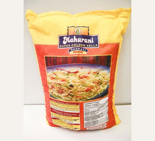 Maharani Basmati Rice Yellow Bag 40lb