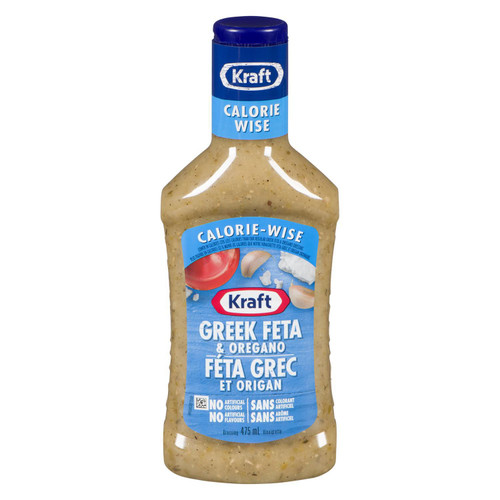 Greek Feta And Oregano Calorie Wise 475mL