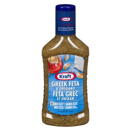 Greek Feta Oregano Salad Dressing 475mL