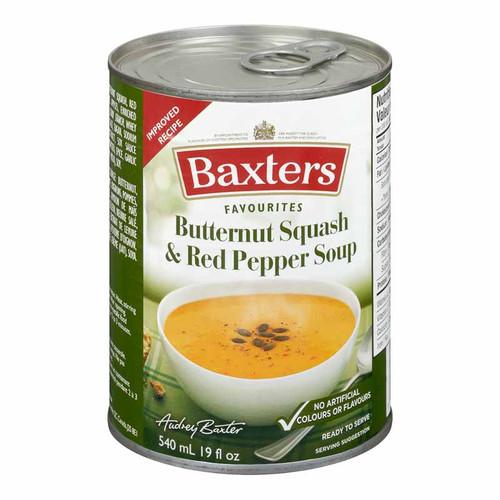 Baxter Butternut Squash & Roasted Red Pepper  540mL