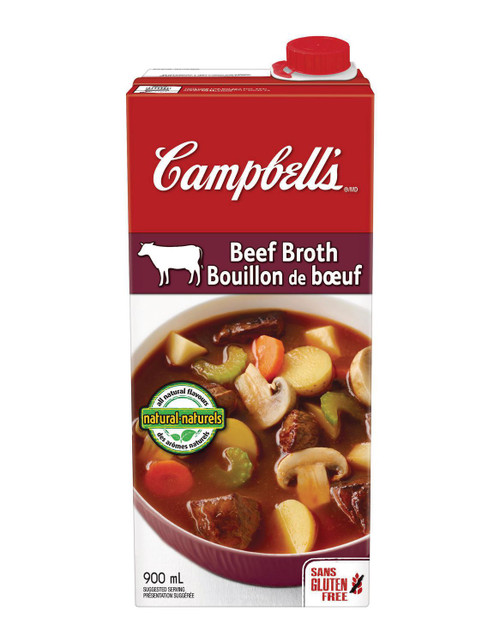 Campbell's Beef Broth 900mL