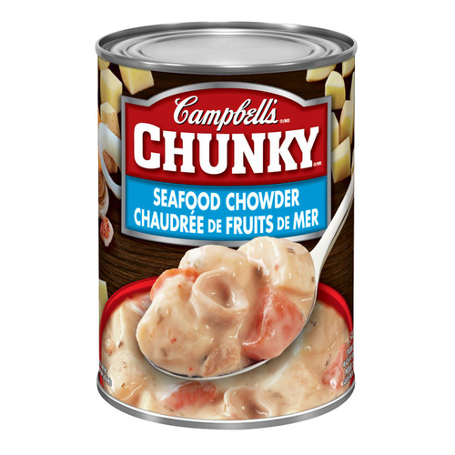 Campbell's  Chunky Seafood Chowder Soup 540ml