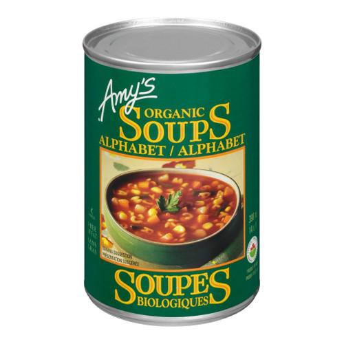 Amy's Kitchen Organic Alphabet Soup 398mL