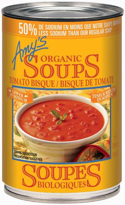 Amy's Kitchen Organic Low Sodium Tomato Bisque 398mL
