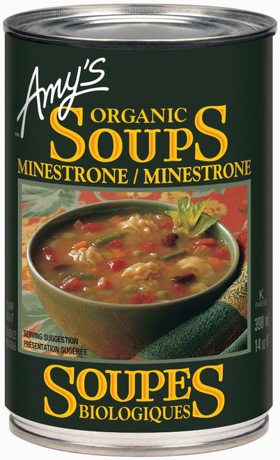 Amy's Kitchen Organic Minestrone Soup 398mL
