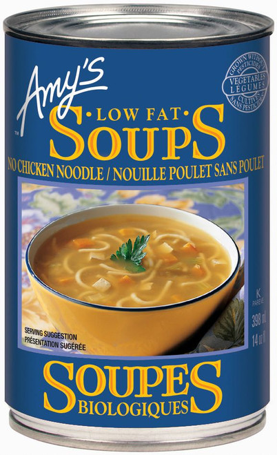 Amy's Kitchen Organic No Chicken Noodle Soup 398mL