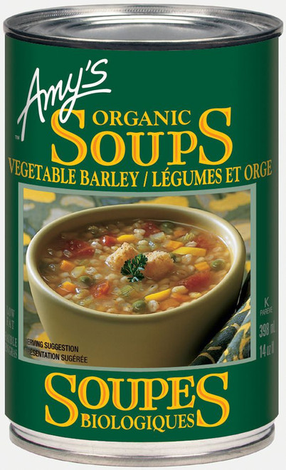 Amy's Kitchen Organic Vegetable Barley 398mL