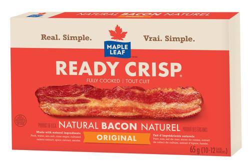 Maple Leaf Ready Crisp Bacon 65g