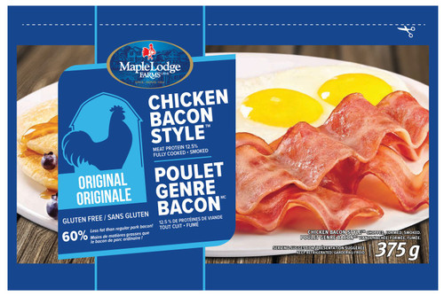 Maple Lodge Farms Bacon Chicken Style 375g