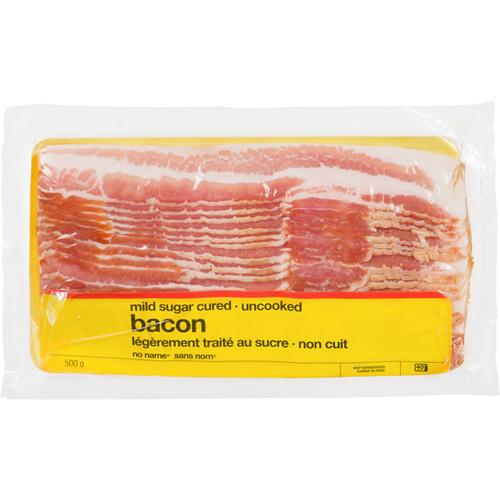 NN Mild Sugar-Cured Bacon Sliced 500g
