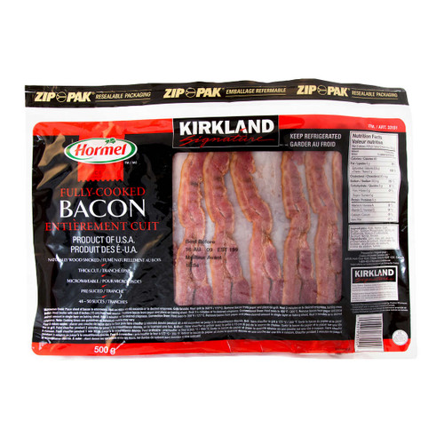 Signature Pre-cooked Bacon 500g