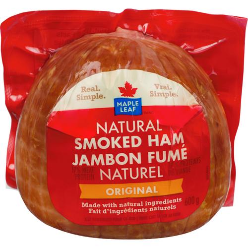 Maple Leaf Original Smoked Ham (Unsliced) 600g