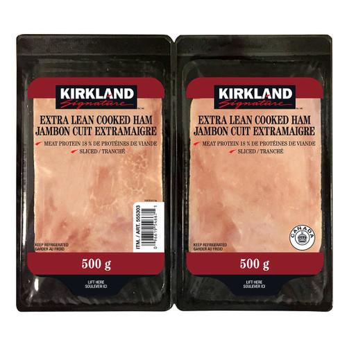 Signature Extra Lean Sliced Cooked Ham 2x500g