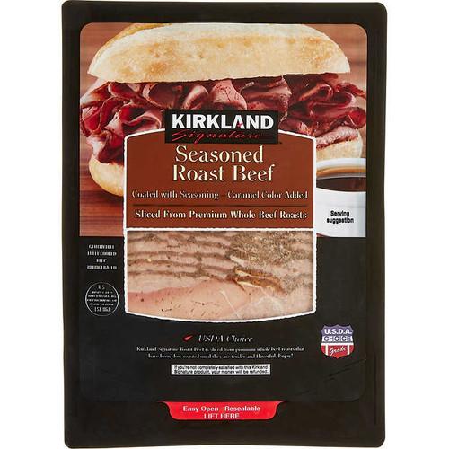 Cooked Seasoned Roast Beef 2x400g