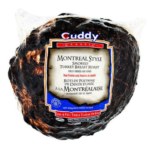Montreal Smoked Turkey 20% ~3.7kg /kg