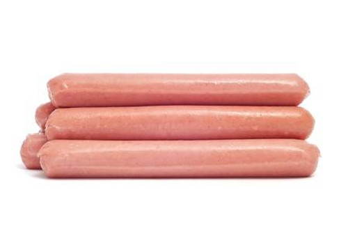 "Maple Leaf All Beef 7"" Wieners 5lb"