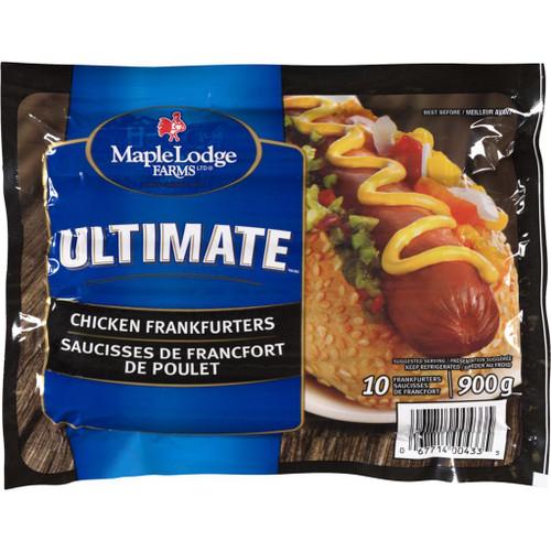 Maple Lodge Farms LT Ultimate Chicken Wieners 10's