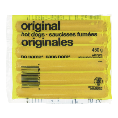 NN Original Hot Dogs 12's